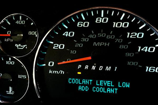 BMW Coolant Level Low Warning Light